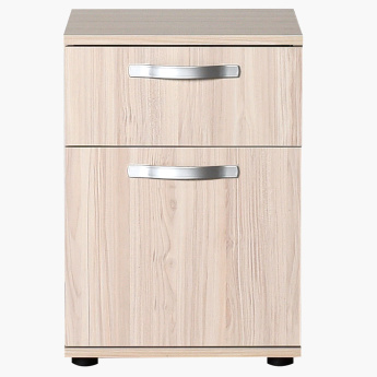 Dynamic 1-Door and 1-Drawer Night Stand