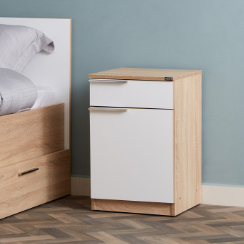 Plus 1-Door Nightstand with 1-Drawer