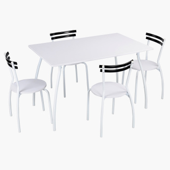 Reeder 4-Seater Dining Set