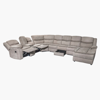 Angus 1-Seater Left Chaise with Recliner