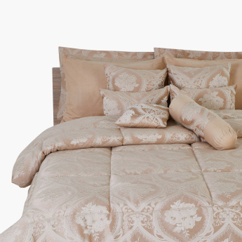 Cemeron Jacquard 12-Piece Super King Comforter Set - 240x260 cms