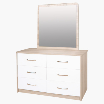 Lara Mirror For 6 Drawers Master Dresser