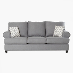 Donatella 3-Seater Sofa with Scatter Cushions
