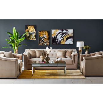Cinderella 3-Seater Sofa with Scatter Cushions
