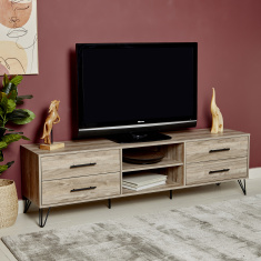 Miro Low 4-Drawer TV Unit for TVs up to 65 inches