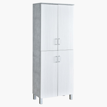 Patara Tall 4-Door Multi-Purpose Shoe Cabinet