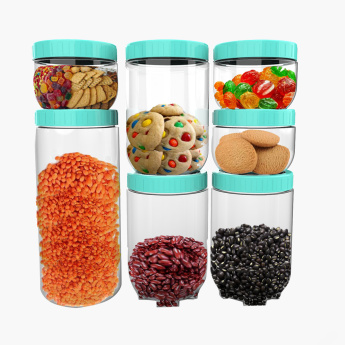 Spectra Stack & Store 7-Piece Jar Set