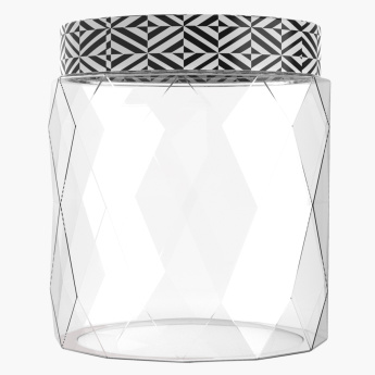 Crystal Jar with Printed Lid - 1500 ml