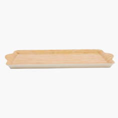 Sunray Bamboo Rectangular Tray - Small