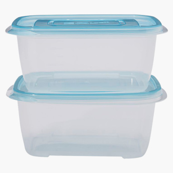 Lock & Lock 2-Piece Rectangular Container - 1320 ml