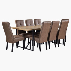Urban 9-Piece Dining Table Set