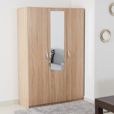 Joy 3-Door Wardrobe with Mirror