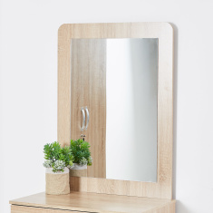 Joy Rectangular Wooden Mirror without Dresser