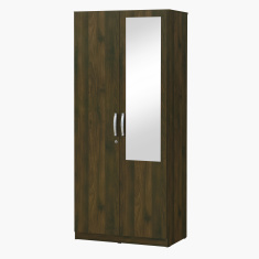 Kulltorp 2-Door Wardrobe with Mirror